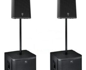 PACKAGE #03 EV ZLX ACTIVE PAIR & SUBS